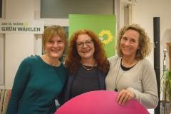 Nicole Eckert  / Margarete Bause / Ulla Zeitlmann