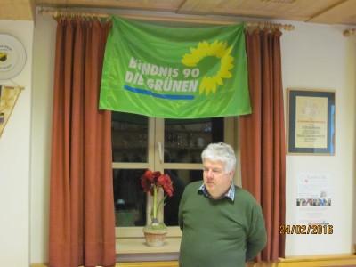 Organisator Peter Wiedeburg